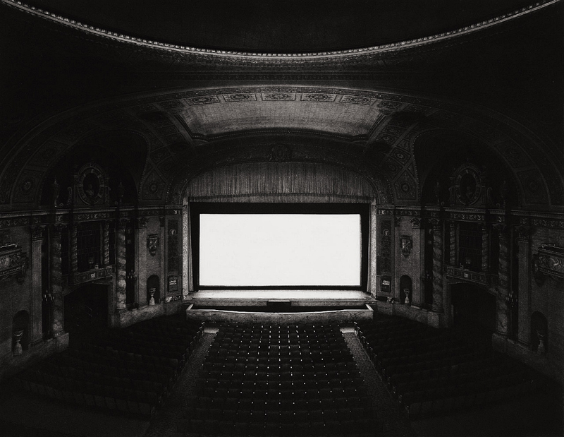 Hiroshi Sugimoto © U.A. Walker Theatre, From Theatre Series, New York, 1978,