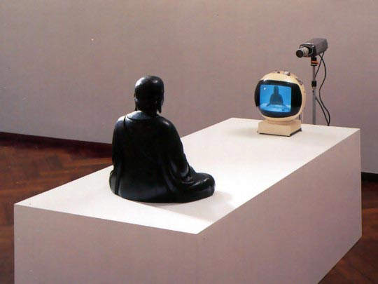Nam June Paik © TV Buddha, 1974