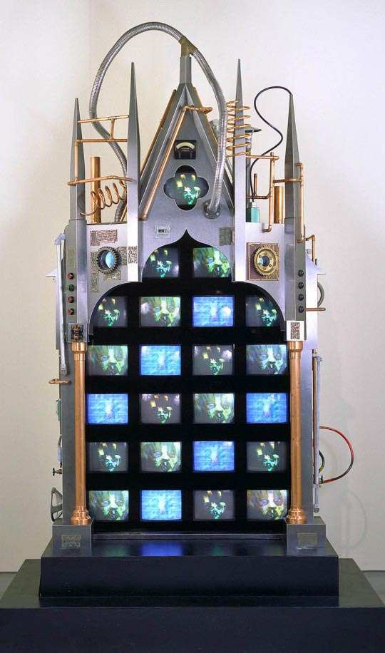 Nam June Paik © Technology, 1991