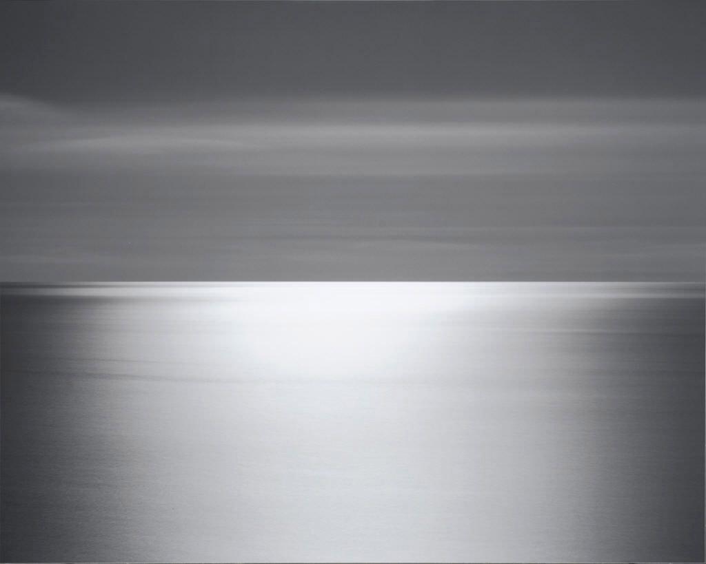 Hiroshi Sugimoto © Seascape: North Atlantic Ocean, Cape Breton,  Silver Gelatin Photograph, 1996.