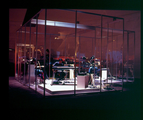 Rirkrit Tiravanija © Untitled 1996 ( Rehearsal Studio No. 6, Silent Version), Photo : Liz Linden