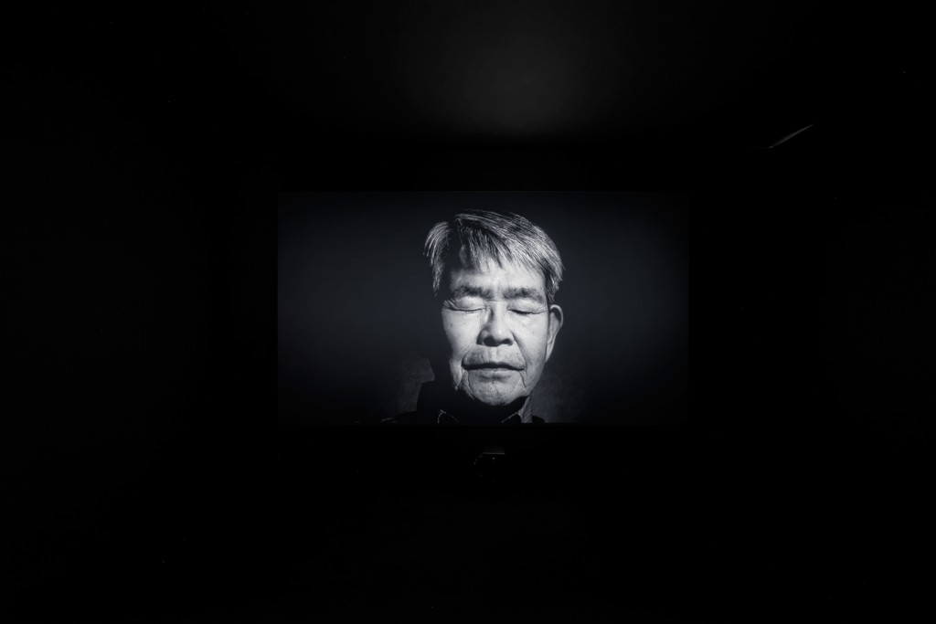 Meiro Koizumi © Trapped Words, single Channel video installation, 11 min 30 sec, courtesy of the artist and Annet Gelink Gallery, Amsterdam, 2014