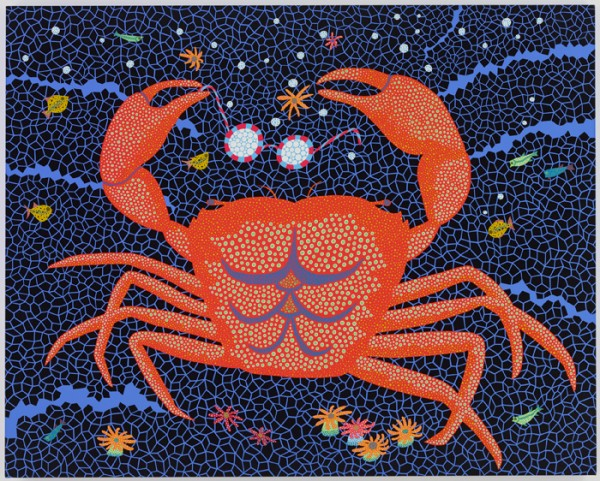 Yayoi Kusama © A-Crab, 2008