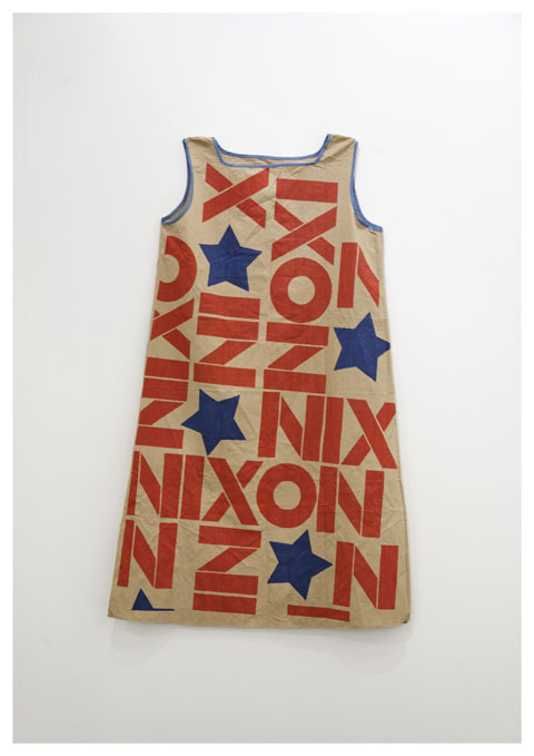 Untitled (America), 2008 Richard Nixon's campaign dress, Collection BSI, Lugano Courtesy: Galerie Isabella Bortolozzi – Danh Vo Photographer: Nick Ash