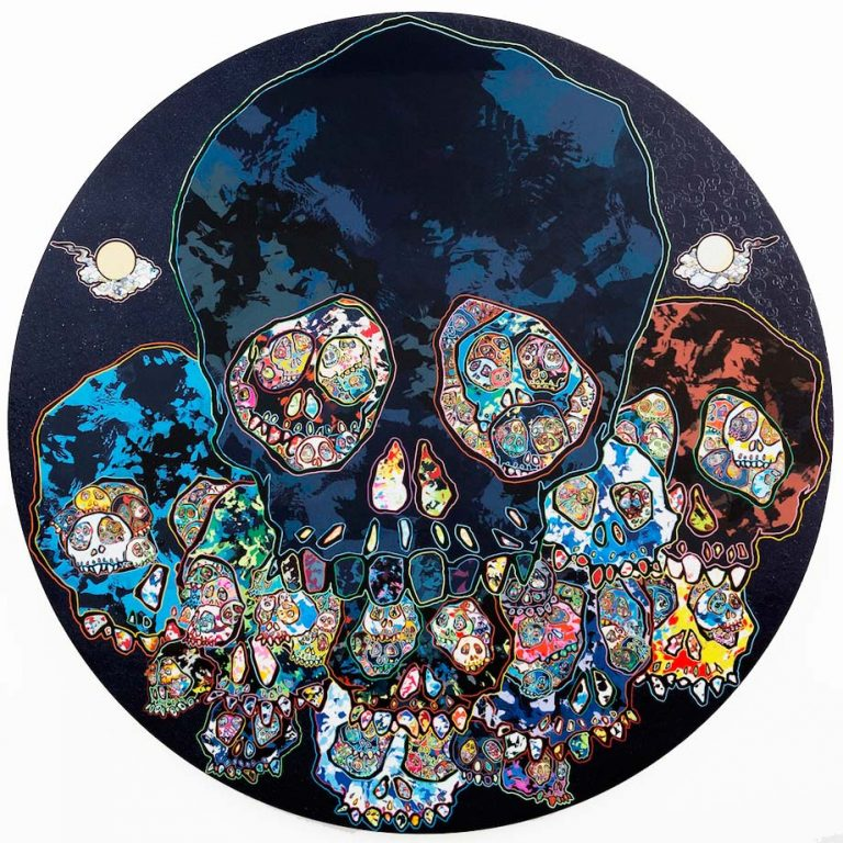 """Guardians of the Sunken Caribbean Treasure"", 2016. Photo Claire Dorn © Takashi Murakami/Kaikai Kiki Co., Ltd. All Rights Reserved. Courtesy Galerie Perrotin"